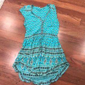 Blue spell mini dress
